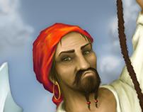 """""""Pirat"""" – Concept art"""