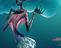 Mermaid, Character Design Challenge