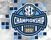 2012 SEC Football Championship Ticket
