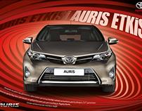 Toyota Auris draft work
