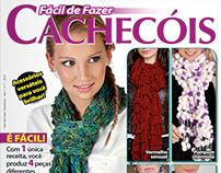 Capa da revista Fácil de Fazer Cachecóis, Nº 1