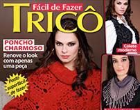 Capa da revista Fácil de Fazer Tricô, Nº 1