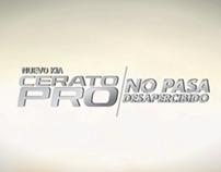 TV KIA CERATO PRO / NO PASA DESAPERCIBIDO