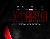 Poster provisional para ANT-MAN