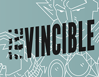 Invincible - Typographic Comic Book