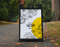 A-Frame Poster Display Sign Mockup Vol 2.0