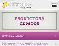 Mobile Design - Agencia de Moda TNDs LA