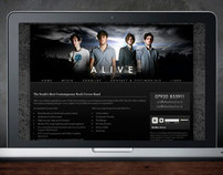 Alive Band Website & Branding