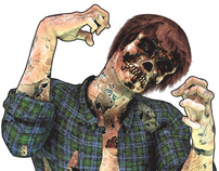 Zombie Ammo® Zombie Targets