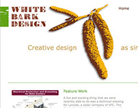 White Bark Design Website