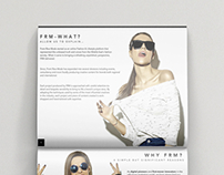 Front Row Mode | Media Kit Redesign