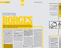 Doble de Diario - J.L. Borges