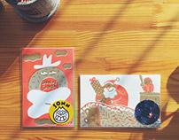 2015 sonn&eomgogi Christmas postcard