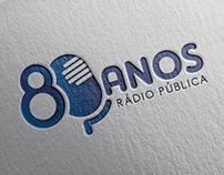 80 Anos Rádio Pública | Branding
