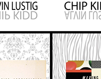 Lustig/Kidd Exhibition Poster