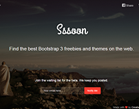 Coming Sssoon Bootstrap Page