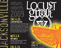 Locust Grove: return shows flyer (2009)
