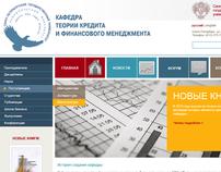 Department of financial managment, website