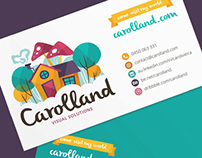 Carolland - Business Card