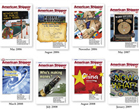American Shipper magazine: collected works