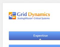 GD website UI