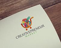 Poster and Logo Creativepreneur Market 2014