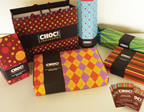 Choc! Chocolate packaging design