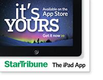 StarTribune - iPad app launch ad champaign -