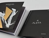 Graduation Work - brochure of NATALIE ROX & ALSTA