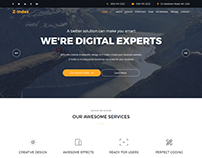 Zindex - Responsive Corporate Business Template