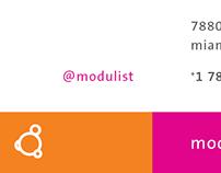 Modulist business cards