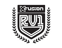 XFusion RV1 Downhill Fork Branding & Graphics