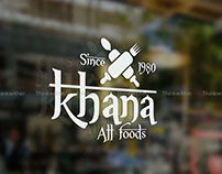 Khana All Foods Branding Design by Thinkwithin