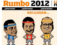 Rumbo 2012 la recta final