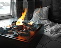 Vesta - bioethanol indoor fireplace