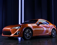 Toyota GT 86 render test