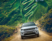 Jeep Compass: CG and Retouch