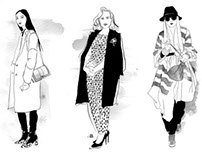 Paris Fashion Week Illustrated