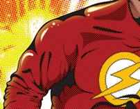 Flash Birthday Poster