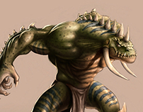 Horny Reptile