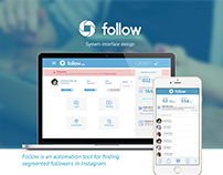 UX Design for Follow Social System