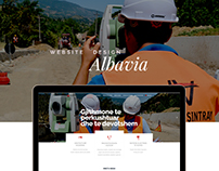 ALBAVIA/Construction Company - WEB DESIGN