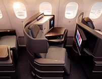 EL AL AIRWAYS B787 Cabin Interiors
