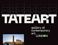 Tate Gallery — website redesign concept