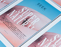 Seek Magazine No.6 – Design, Content, Publishing