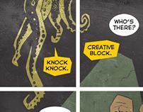 Creative Block Comic