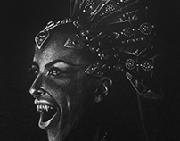 Queen Of The Damned Drawing