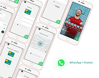 WhatsApp Concept Food Chatbot