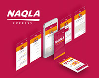 Naqla - Mobile App Design
