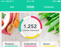 Food and Health Mobile App